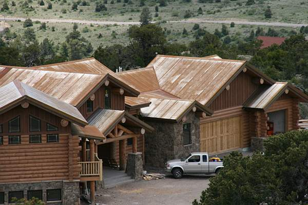 Why metal roofing is the only sensible choice for your log Cabins with metal roofs