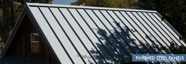 Finished Steel Panels | Metal Roof Network