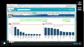 screenshot salesforce analytics