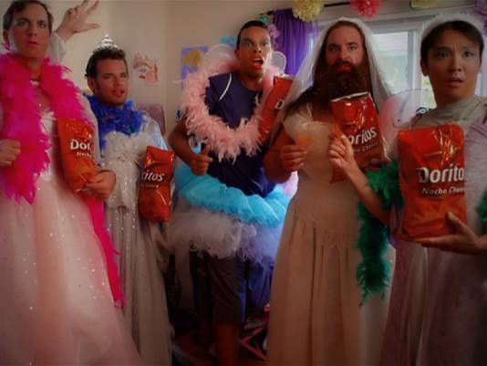 Doritos crowdsourced this ad in Super Bowl XLVII