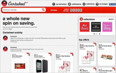 Target's Cartwheel takes digital retailing to new heights