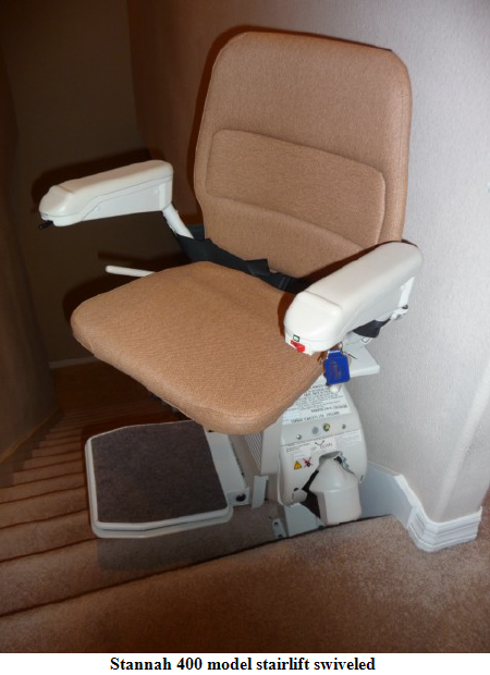 Stairlift Photographs Of Recent Local Installations