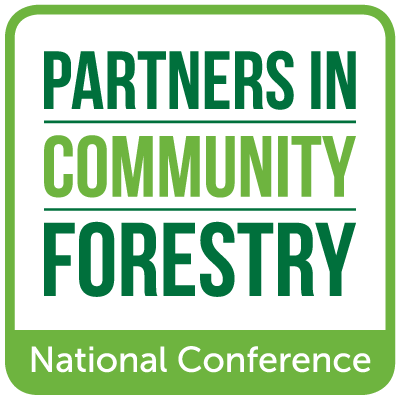 logo partners in community forestry ArborDayFoundation
