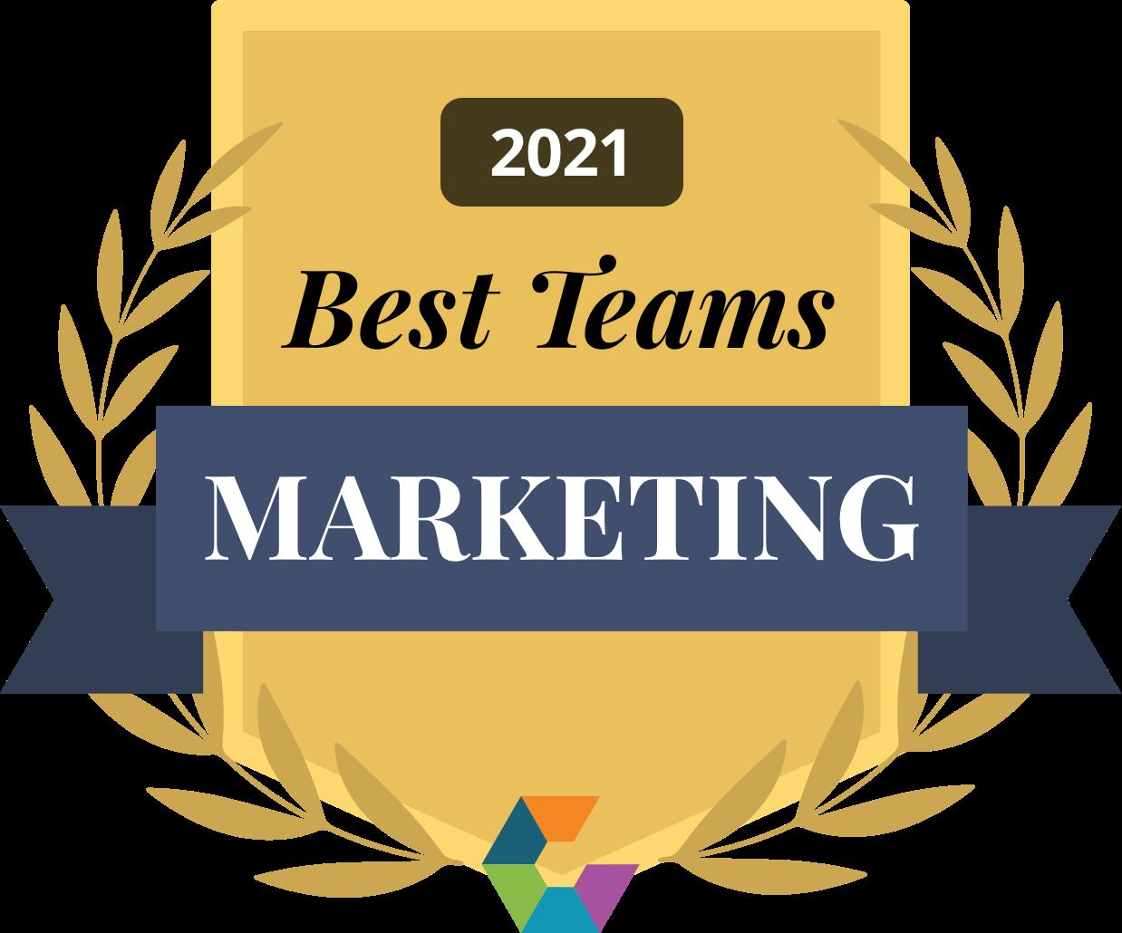 Best Marketing Team 2021