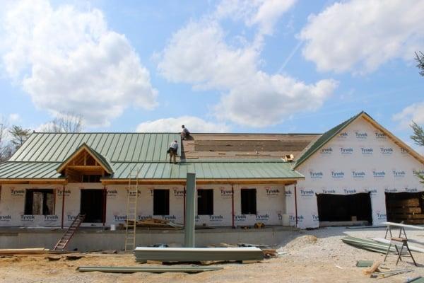 Snap Lock Standing Seam Metal Roofing