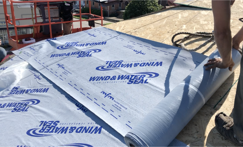 high temperature ice and water for standing seam  installation-1