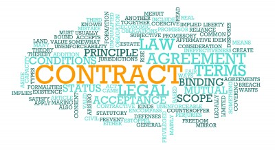 how to write a legal contract