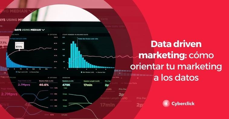 Data Driven Marketing: cómo orientar tu marketing a los datos