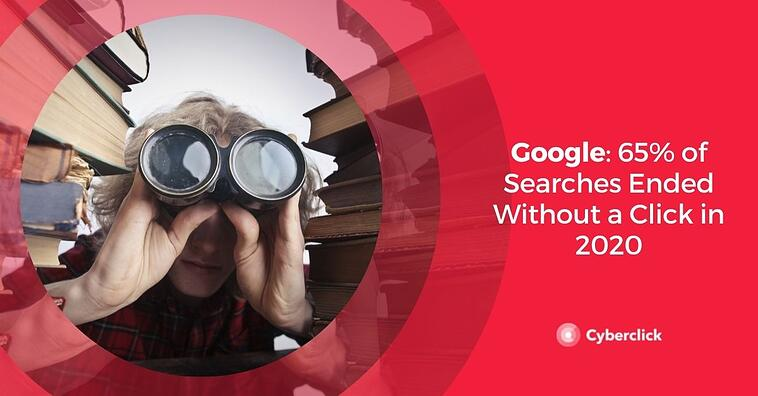 Google: 65% of Searches Ended Without a Click in 2020