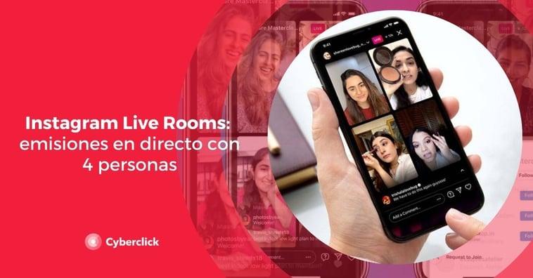 Instagram Live Rooms: emisiones en directo con hasta 4 personas