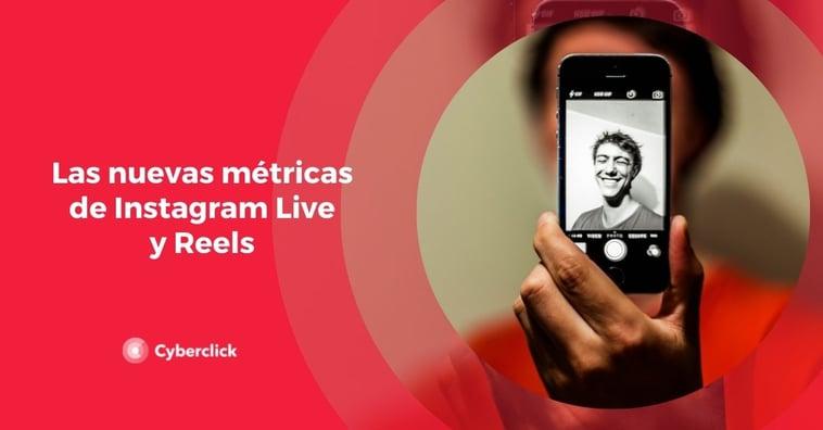 Las nuevas métricas de Instagram Live y Reels