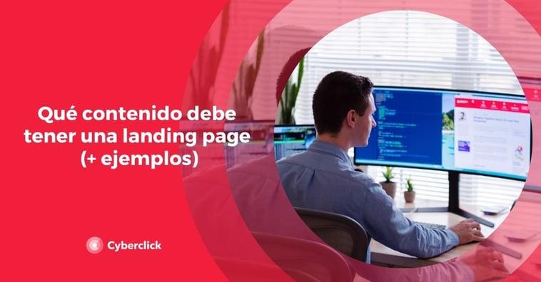 Qué contenido debe tener una landing page (+ ejemplos)