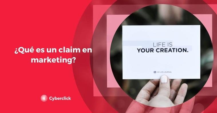 ¿Qué es un claim en marketing?