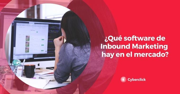 ¿Qué software de Inbound Marketing hay en el mercado?
