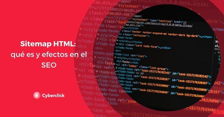 Sitemap HTML: qué es y efectos en el SEO