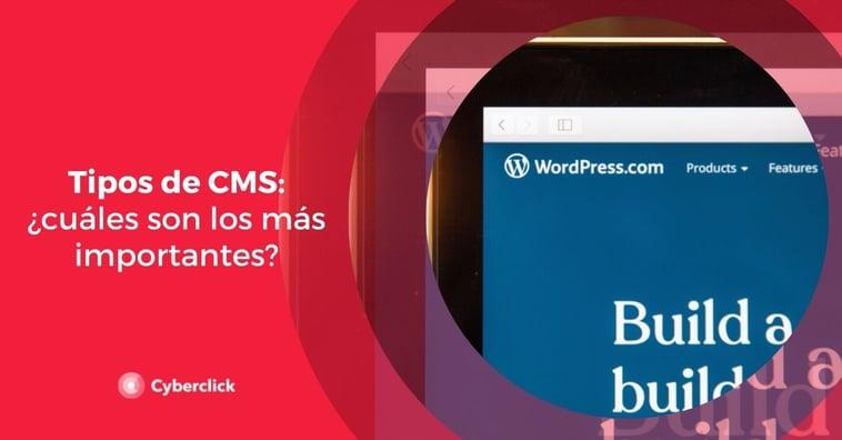 Tipos de CMS: ¿cuáles son los más importantes?