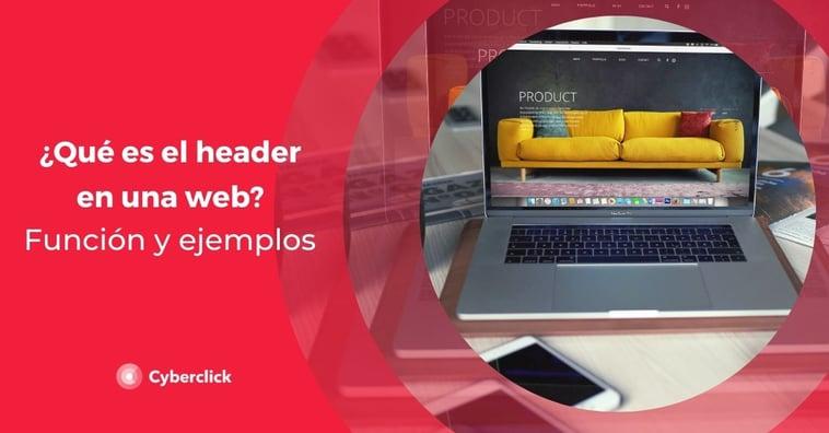 ¿Qué es el header en una web? Función y ejemplos