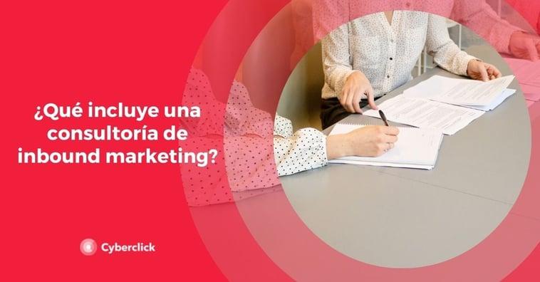 ¿Qué incluye una consultoría de inbound marketing?