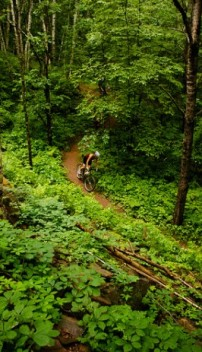 Teen mountain biking summer camp