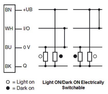wiring photoelectric switch diagram images dark on light sensors wiring wiring diagram