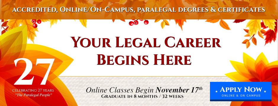 Paralegal online written