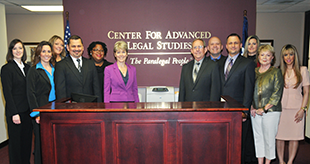 Center for Advanced Legal Studies staff