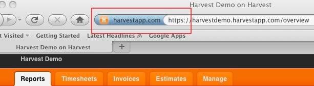 Firefox HTTPS hint display