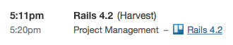 Trello Time Entry in Harvest Timesheets