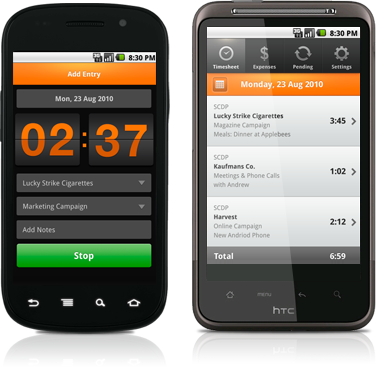 android-time-tracker