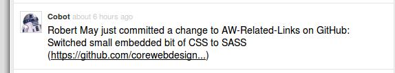 Co-op GitHub message