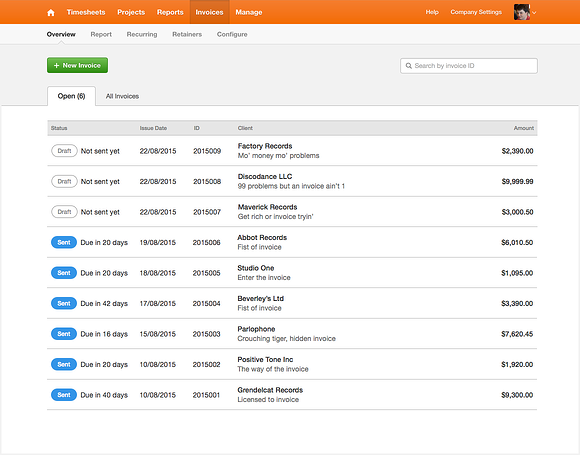 invoices_overview