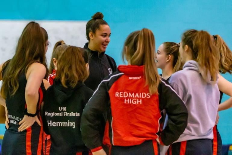 Redmaids' High announced as hosts for Severn Stars Netball Nova Academy