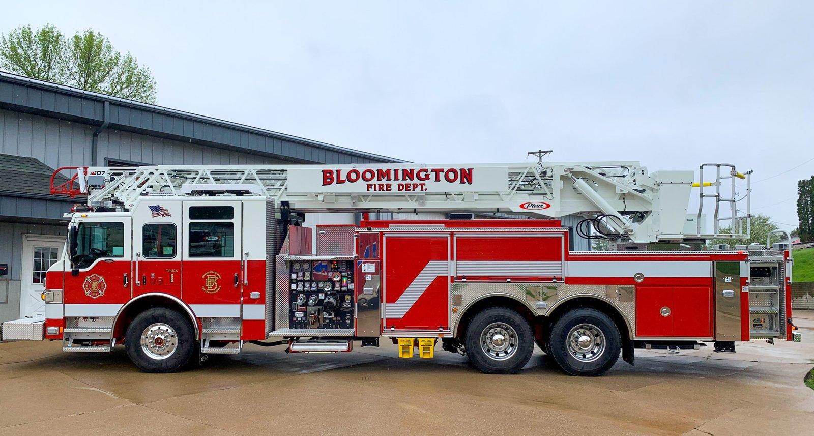 Bloomington Fire Department - Aerial