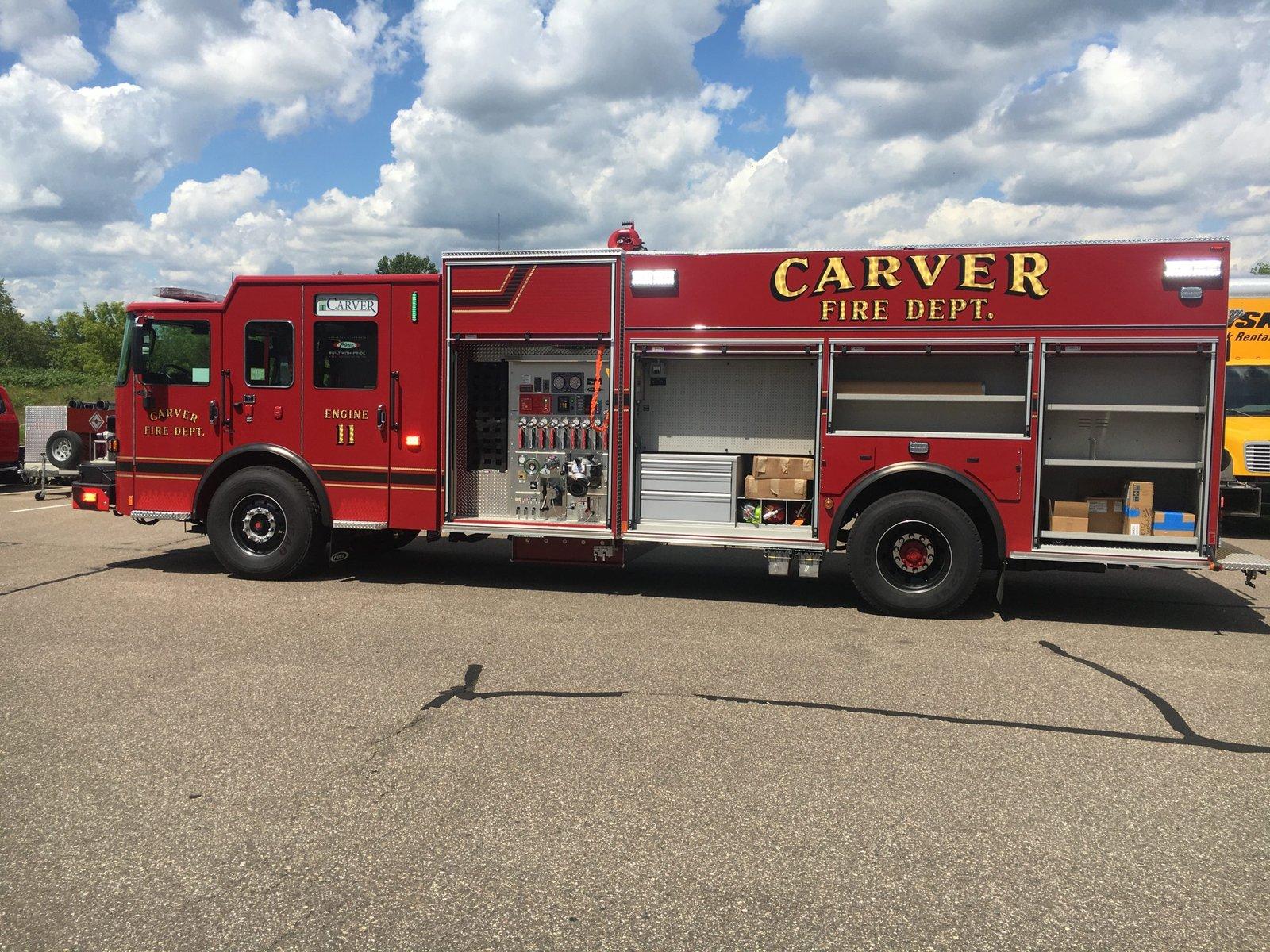 Carver Fire Department - Pumper