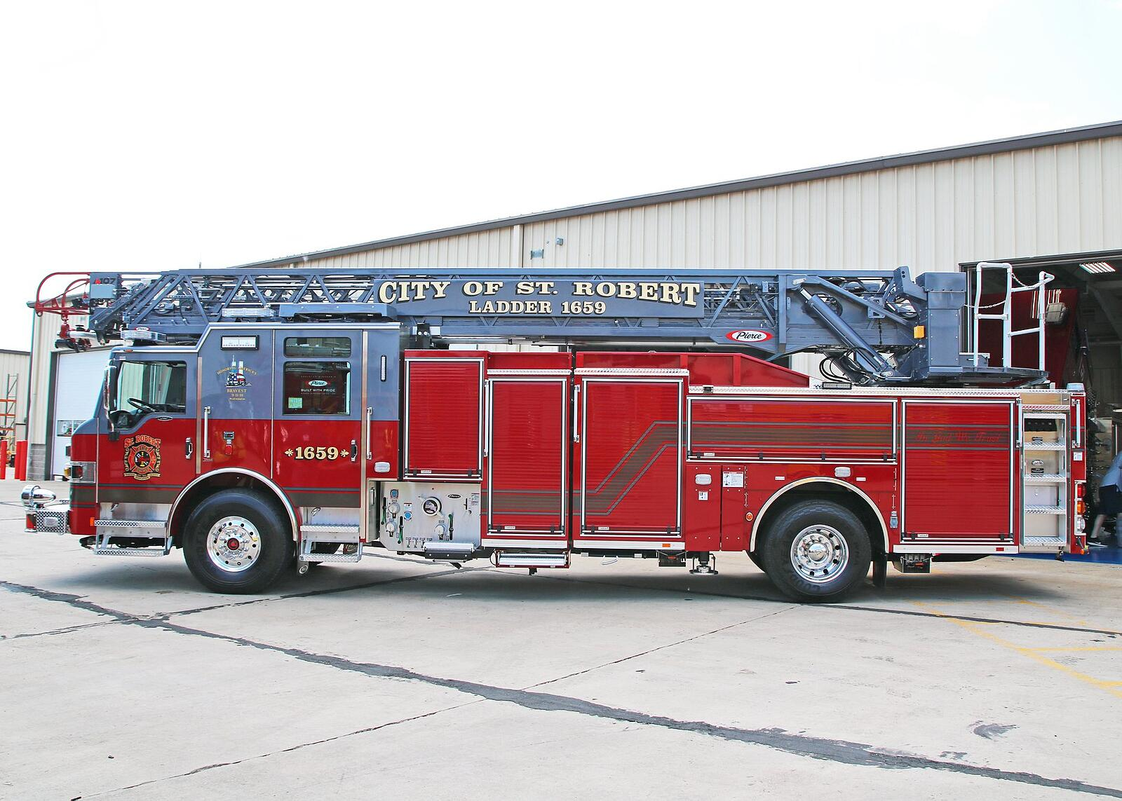 City of St. Robert Fire & Rescue - Aerial