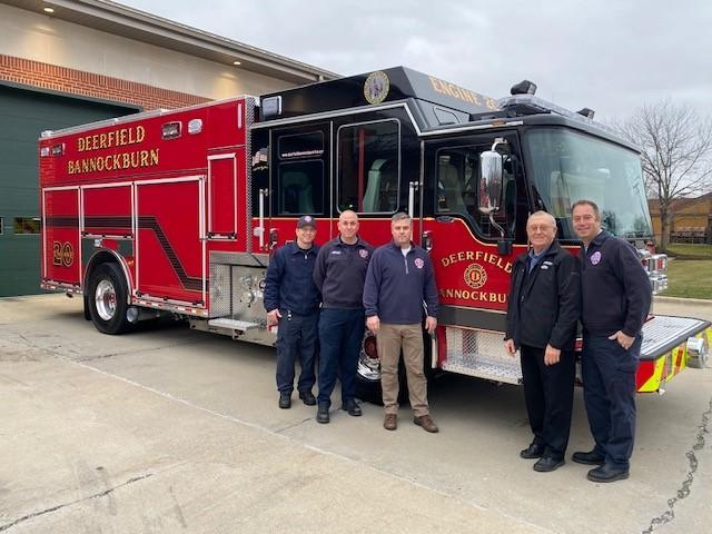 Deerfield-Bannockburn Fire Department - Pumper