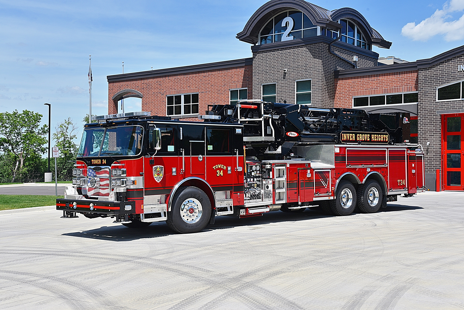 Inver Grove Heights Fire Department - Aerial