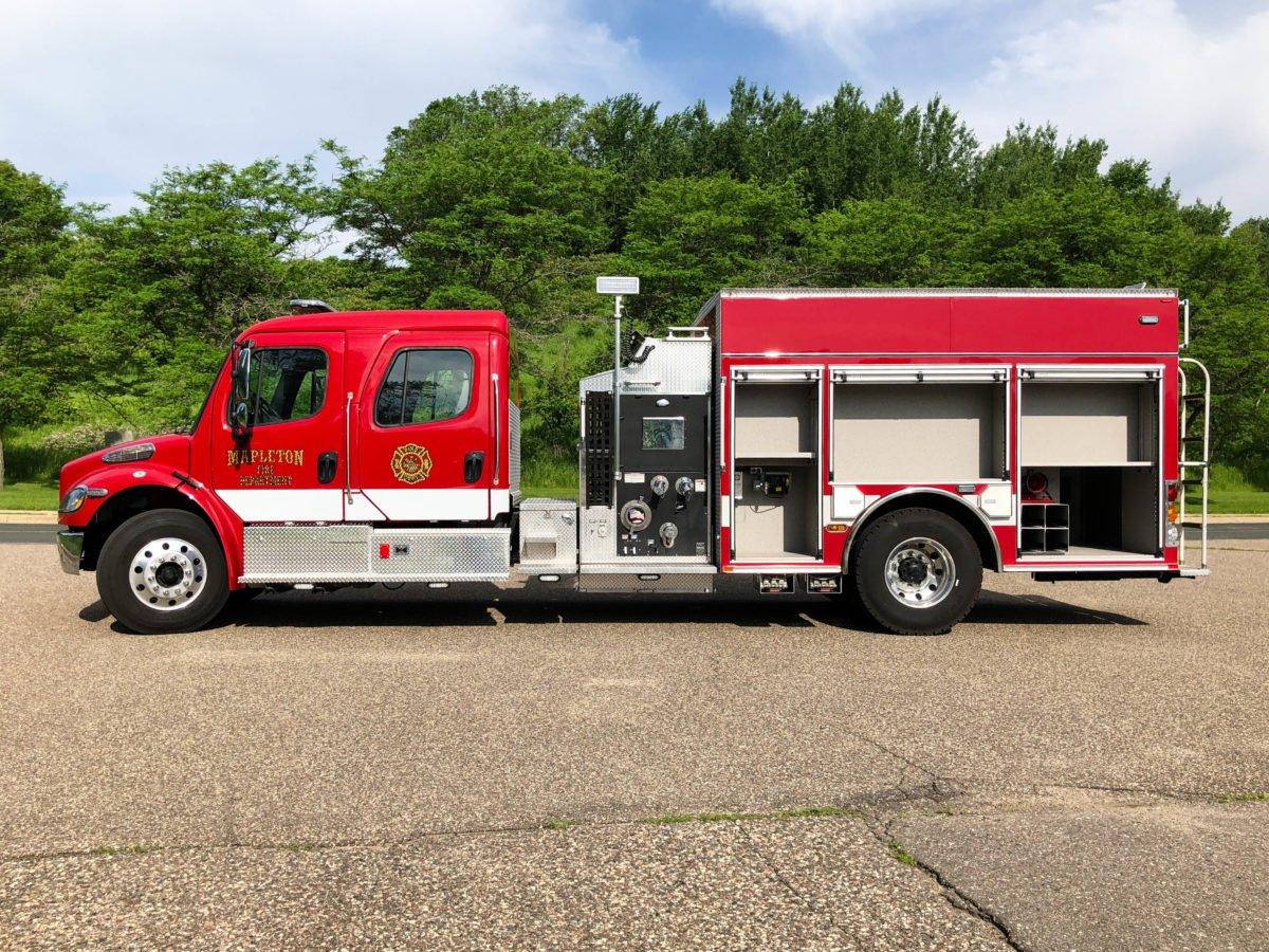 Mapleton Volunteer Fire Department - Pumper