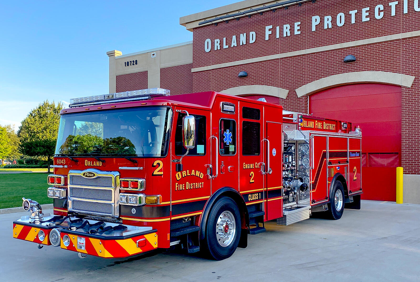 Orland Fire Protection District - Pumper