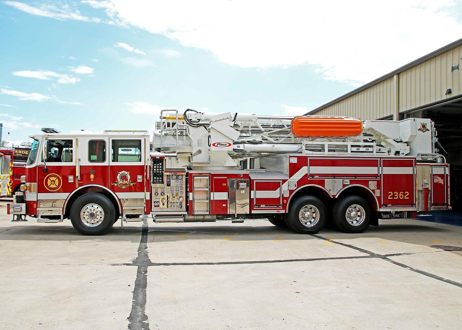 Rantoul Fire Department - Aerial