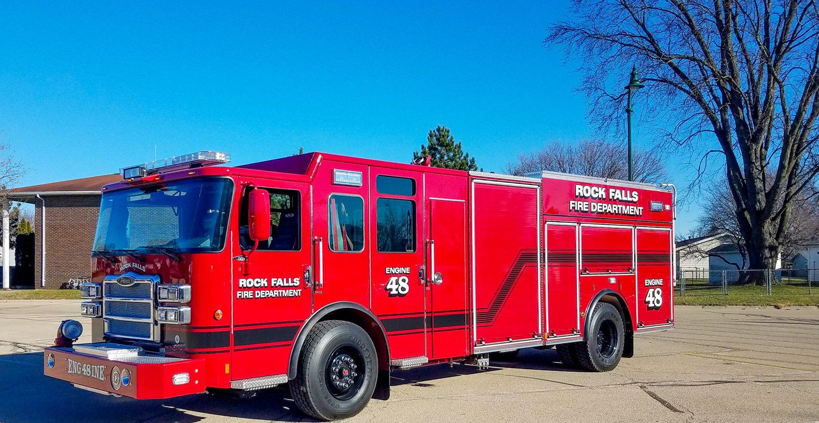 Rock Falls Fire Department - Pumper