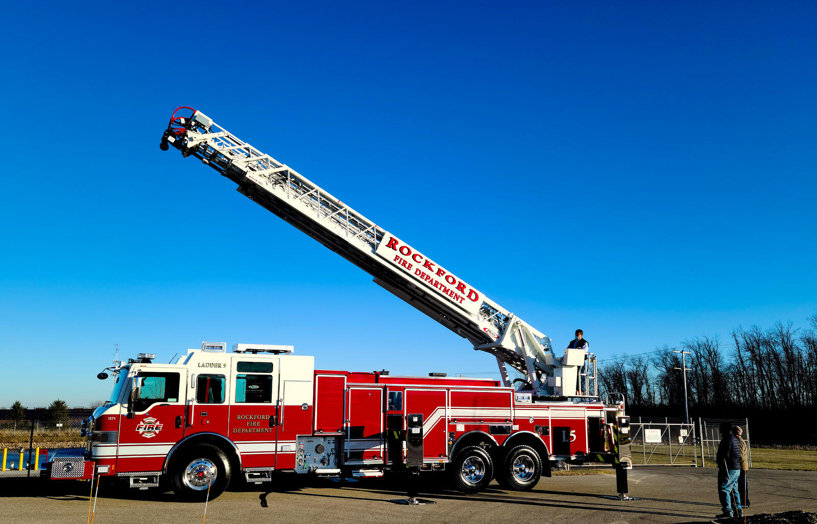 Rockford Fire Department - Aerial