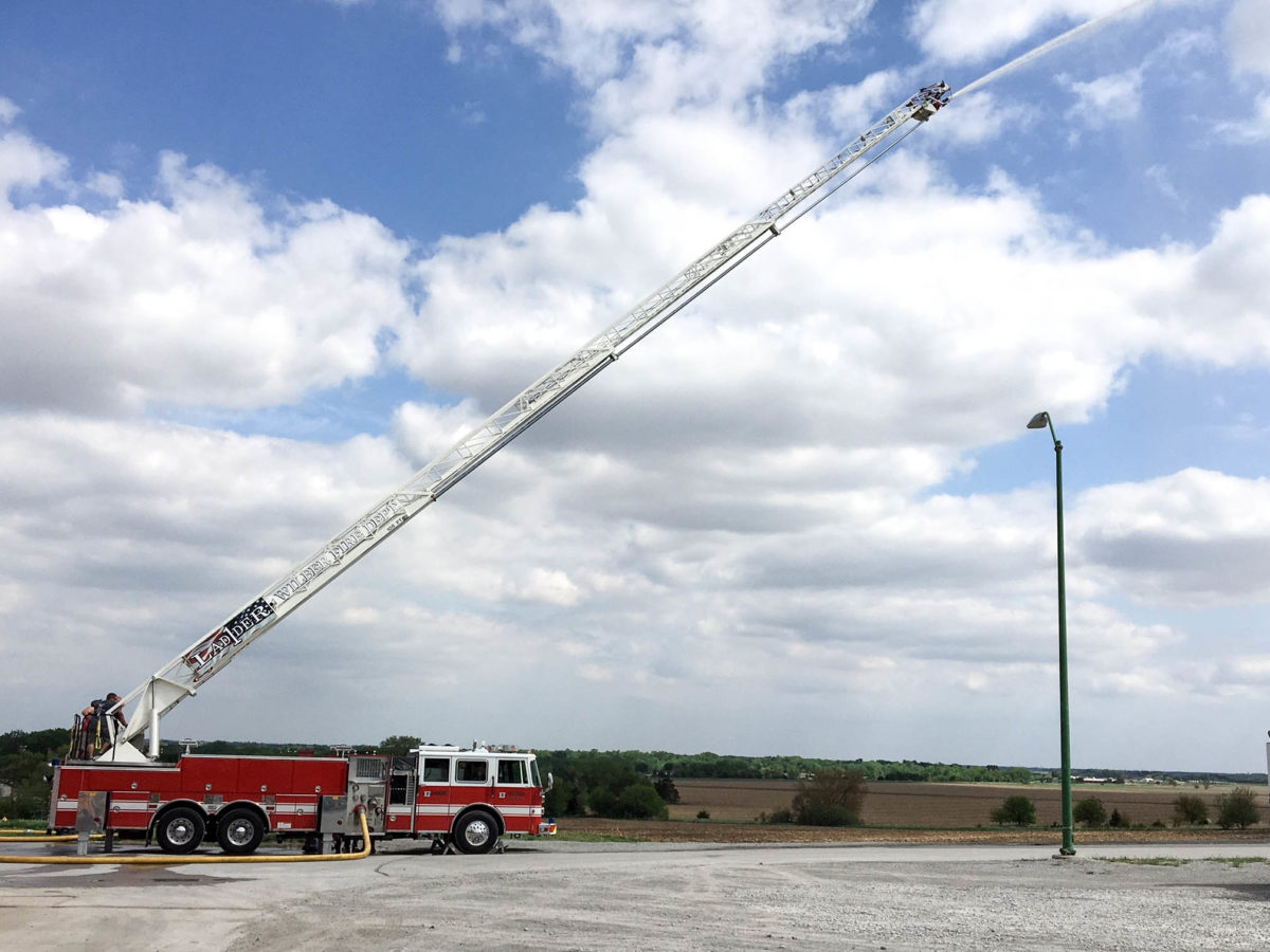 Wilber Fire & Rescue - Aerial