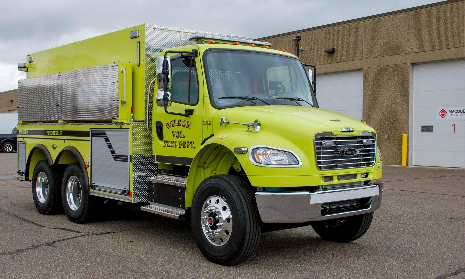 Wilson Fire Department - Tanker