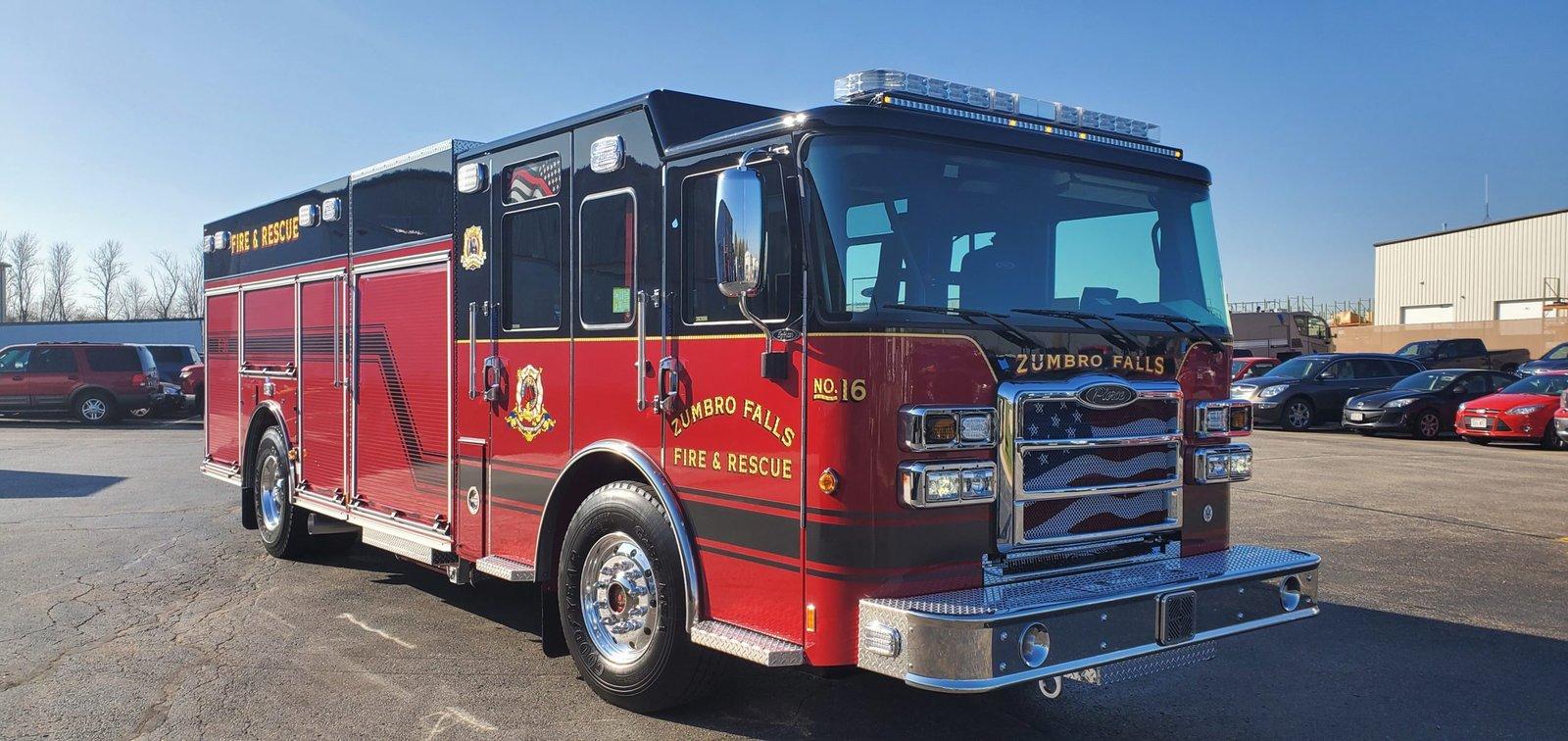 Zumbro Falls Fire Department - Pumper