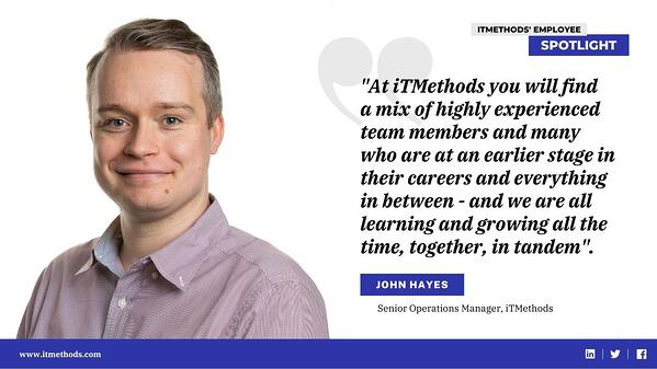 Meet our Team: Employee Spotlight - John Hayes