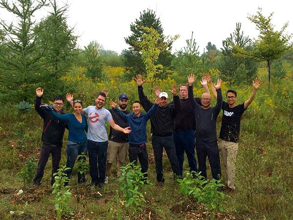Pledge 1%: iTMethods Partners with Evergreen to Plant over 200 Trees!