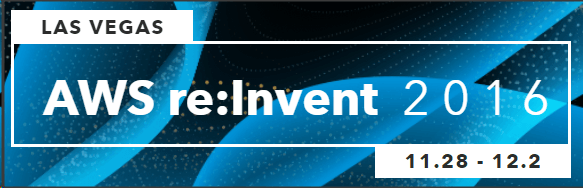 Join iTMethods at AWS re:Invent 2016 in Las Vegas!