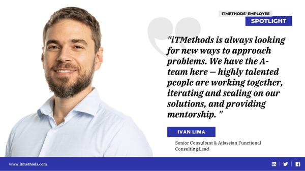 Meet our Team: Employee Spotlight - Ivan Lima
