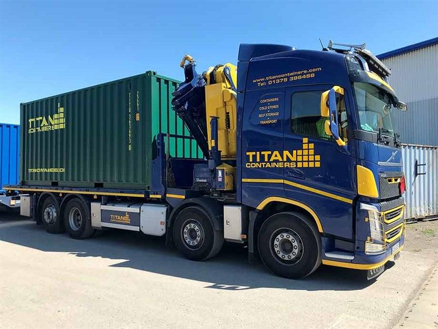 MOVING TRANSPORT CONTAINER TITAN